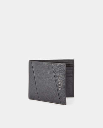 42ff5f964628 Ted Baker FITERS Seamed leather bifold wallet