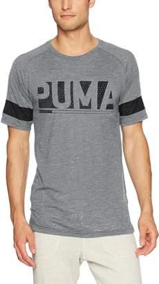 Puma Men's Raglan Energy Athleisure Fashion Tee