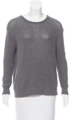 Wes Gordon Long Sleeve Knit Sweater