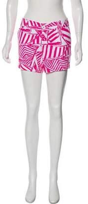 Lilly Pulitzer Mid-Rise Mini Shorts