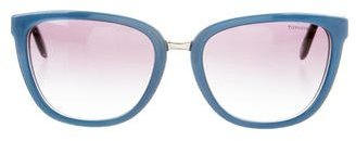 Tiffany & Co. Embellished Tinted Sunglasses w/ Tags