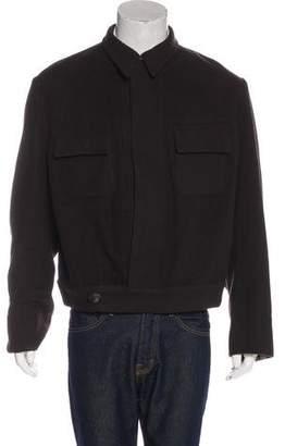 Gucci Wool Button-Up Eisenhower Jacket