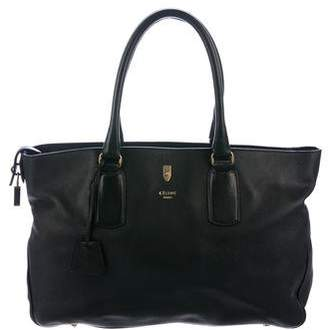 Celine Lock Leather Tote