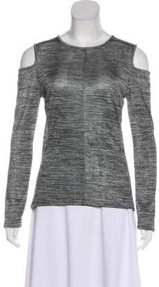 Rag & Bone Cold-Shoulder Long Sleeve T-Shirt