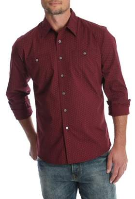 Wrangler Men's and Men's Big Premium Slim Fit Stretch Shirt, up to Size 3XL