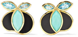 Ippolita 18-karat Gold Multi-stone Earrings