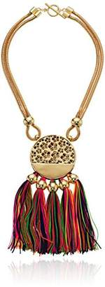 Trina Turk Mojito Nights Open Lariat Y-Shaped Necklace