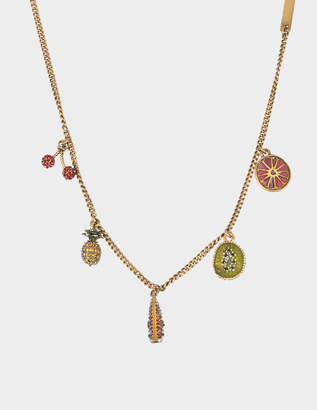 Marc Jacobs Tropical Charm Necklace