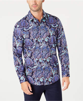 Tasso Elba Men's Paisley Shirt, Created for Macy's