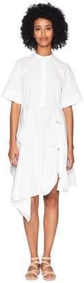 Sportmax Runway Giraffa Short Sleeve Cinch Front Dress Women's Dress