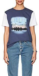 Off-White Women's Graphic-Print Cotton Jersey T-Shirt-Sunset