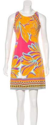 Hale Bob Sleeveless Mini Dress