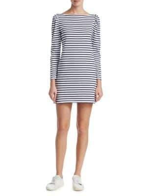 A.L.C. Stevens Striped T-Shirt Dress