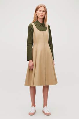 Cos WOOL-CASHMERE A-LINE DRESS