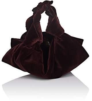 The Row Women's The Ascot Small Velvet Bag