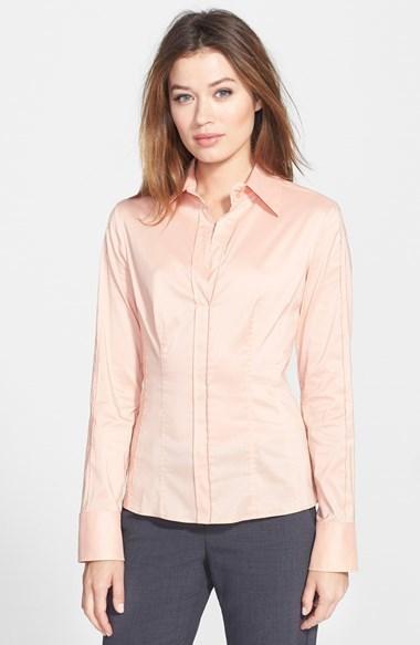 HUGO BOSS BOSS 'Bashina4' Poplin Shirt