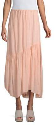 Joie Hiwalani Asymmetric Drape Midi Skirt