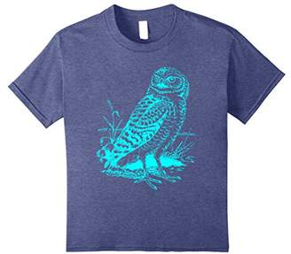 Fun Vintage Owl Graphic T-Shirt Cool Hipster Owl T Shirt