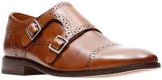 Bostonian Commonwealth By Nantasket Leather Monk-Strap Shoes