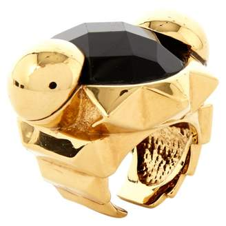 Roberto Cavalli Gold Metal Ring