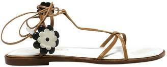 Missoni Camel Leather Sandals