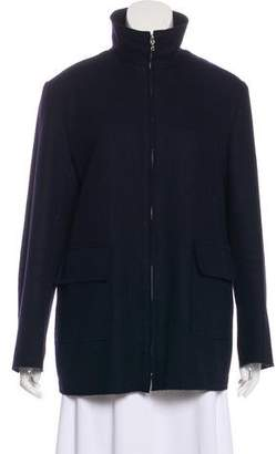 Valentino Layered Virgin Wool Jacket