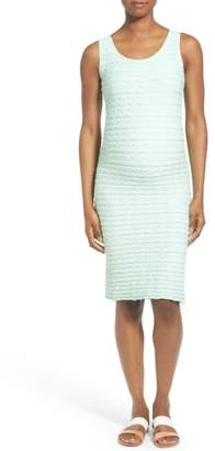 Tees by Tina 'Crinkle' Tank Maternity Dress