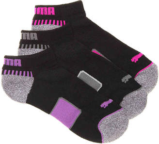 Puma Cushioned No Show Socks - 3 Pack - Women's