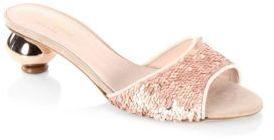 Kate Spade New York Paisley Slip-On Sandals