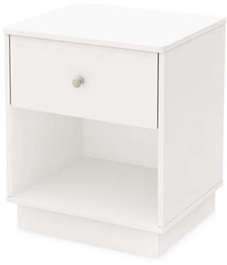 SOUTH SHORE Litchi One-Drawer Nightstand