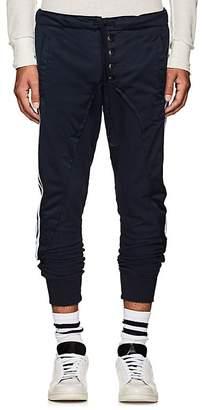 Greg Lauren Men's Cotton-Blend Jogger Pants