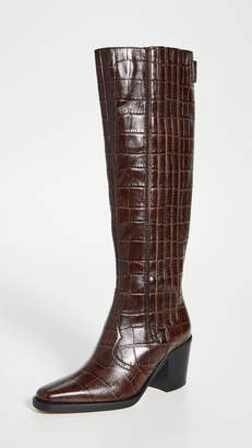 Ganni Western Knee High Boots