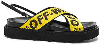 Off-White Industrial Belt Sandal