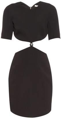 Thierry Mugler Cut Out Cady Dress - Womens - Black