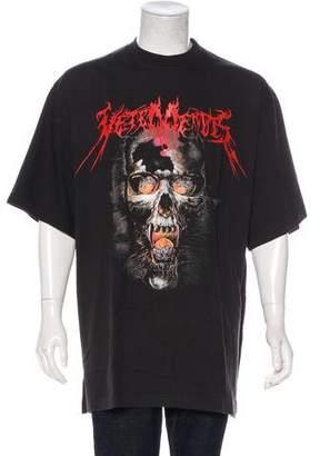 Vetements 2018 Heavy Metal Oversize T-Shirt