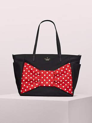 Kate Spade for minnie mouse betheny baby bag