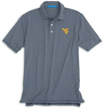 Southern Tide West Virginia Striped Polo Shirt