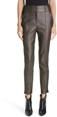Veronica Beard Lago Metallic Trousers