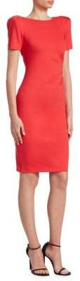 Giorgio Armani Ruched Jersey Dress