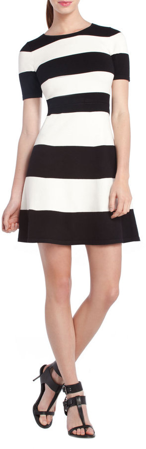 BCBGMAXAZRIA Lylah Striped Dress