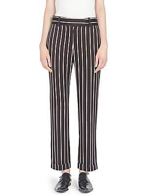 Haider Ackermann Women's Striped Wide Leg Trousers