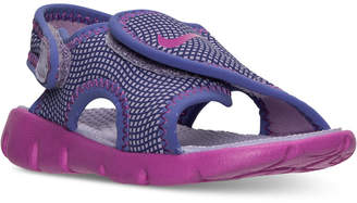 Nike Toddler Girls' Sunray Adjust 4 Sandals from Finish Line $29.99 thestylecure.com