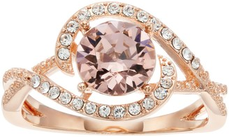 Brilliance+ Brilliance Pave Swirl Ring with Swarovski Crystals