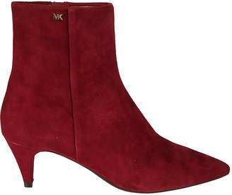 Michael Kors Flex Kitten-heel Ankle Boots
