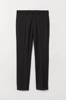 H&M Suit Pants Regular fit - Black