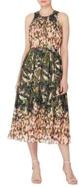 Catherine Malandrino Safari Sojourn Alfie Printed Dress