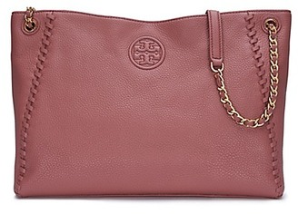 Tory Burch Marion Center-Zip Tote $495 thestylecure.com