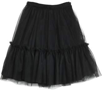 MSGM Layered Stretch Tulle Midi Skirt