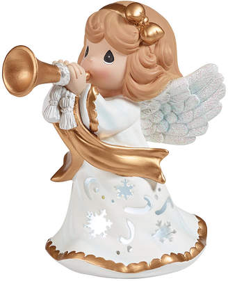 Precious Moments Angels We Have Heard On High Lighted Musical Angel Figurine