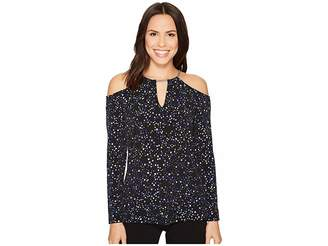 MICHAEL Michael Kors Star Chain Strap Top Women's Clothing
